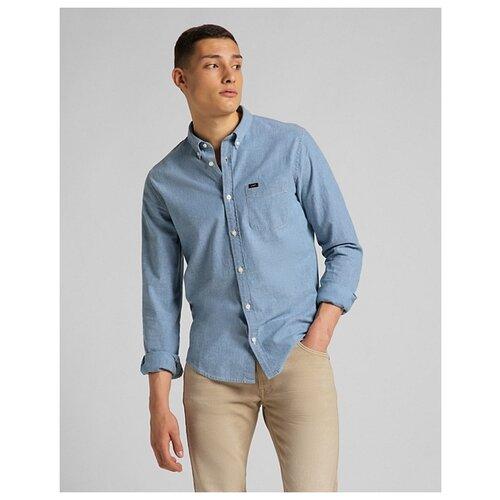 Рубашка Lee размер XL голубой