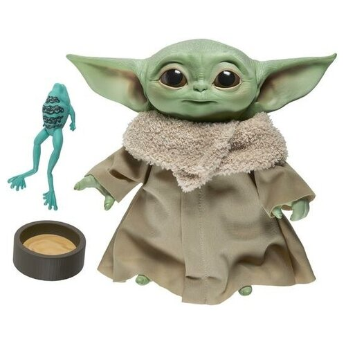 Мягкая игрушка со звуком Hasbro: Звездные войны: Мандалорец (Star Wars: The Mandalorian) Дитя (The Child) (F1115) 19 см
