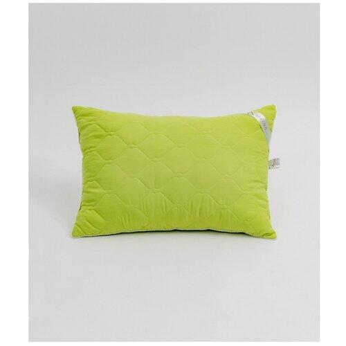 Подушка SELENA Crinkle line 50x70 см, Искусственный лебяжий пух, Зеленый