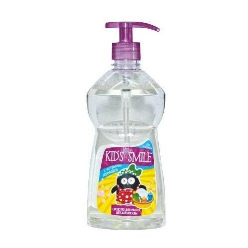 Средство для мытья детской посуды Kids smile с экстрактом ромашки, 500 мл мыло детское умка с экстрактом ромашки и череды 80 г