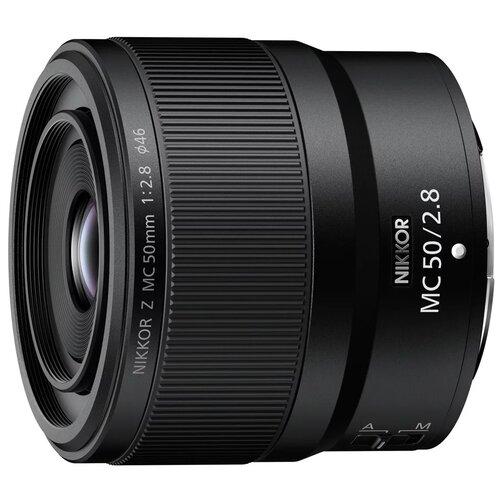 Объектив Nikon 50mm f/2.8 MC Nikkor Z черный недорого
