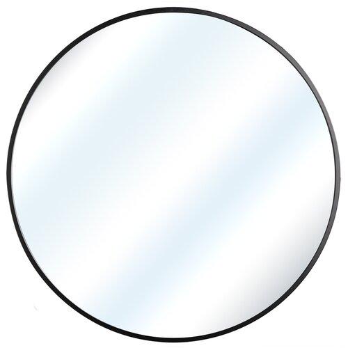 беговелы smoby на металлической раме Зеркало настенное СКАНДИ БЛЭК, 60 см х 60 см, в черной металлической раме, скандинавский стиль
