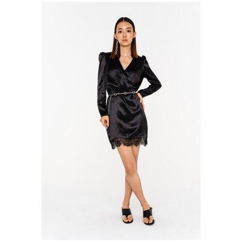 Платье Befree, размер L/48, черный платье befree befree be031ewbxib1