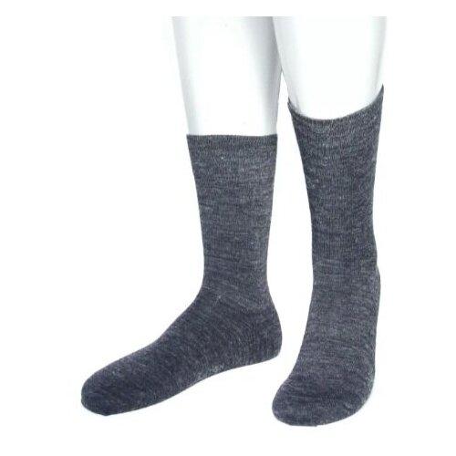 Носки мужские Grinston 15D19 теплые, Антрацит, 25 (размер обуви 39-41)