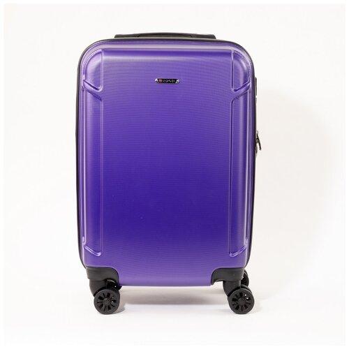 Чемодан Rion+, 436-С фиолетовый 18