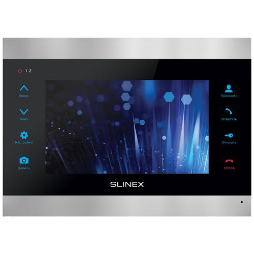 Видеодомофон SLINEX SL-07IPHD Silver+Black