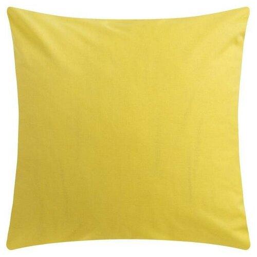 Наволочка Этель 70*70 см, цв.жёлтый, 100% хлопок, поплин, 125 г/м2 5450310