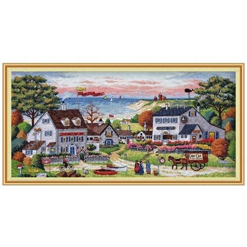 Фото - 03896 Уютное укрытие 46 x 23 см набор для вышивания dimensions 03896 уютное укрытие46 x 23 см