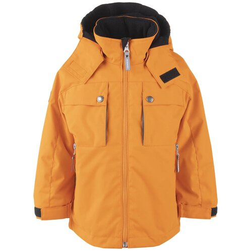 Купить Куртка для мальчиков HENRY K21023-453, Kerry, Размер 104, Цвет 453-оранжевый, Куртки и пуховики