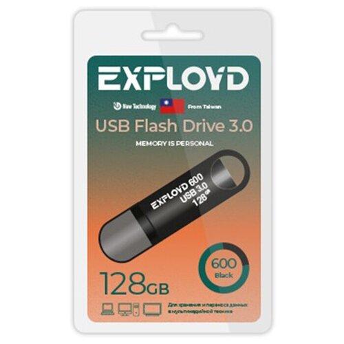 Фото - USB Flash Drive 128GB Exployd 600 EX-128GB-600-Black usb flash drive 32gb exployd 640 ex 32gb 640 black
