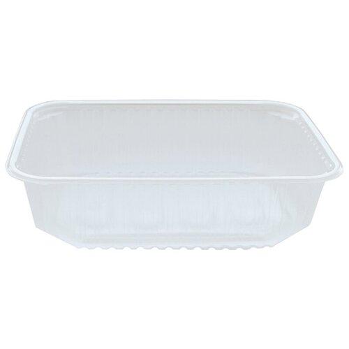Контейнеры пищевые одноразовые Контейнеры одноразовые OfficeClean 750мл, набор 100шт., без крышек, 186*132*50мм, ПП, прозрачные