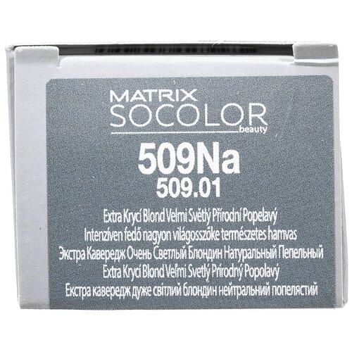 Купить Matrix Socolor Beauty стойкая крем-краска для волос Extra coverage, 509Na чень светлый блондин натуральный пепельный, 90 мл