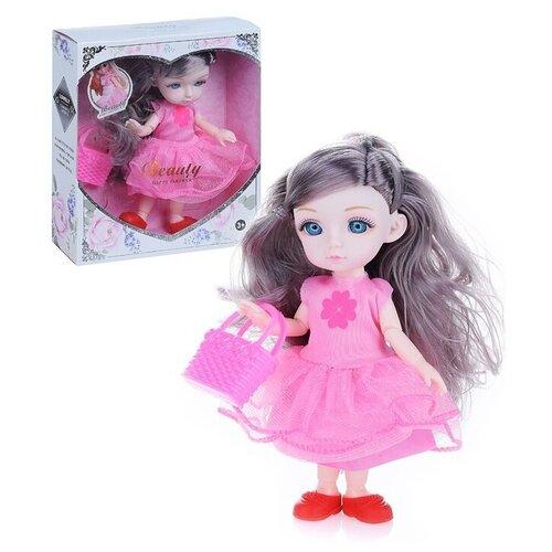 Фото - Кукла Oubaoloon, 16 см, ZR-312-2 кукла oubaoloon martina 14 см 601 c