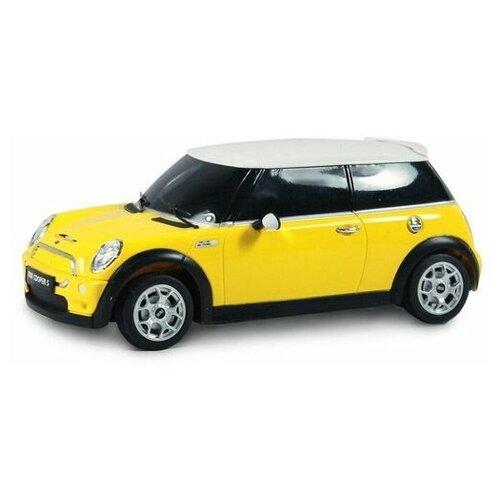 Купить Радиоуправляемая машинка Rastar Minicooper S, жёлтый, 27MHZ, 1:18, Радиоуправляемые игрушки