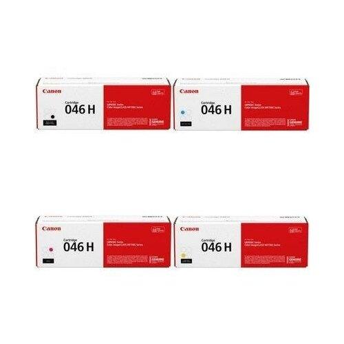 Фото - Canon 1251C002-1252C002-1253C002-1254C002 Картриджи комплектом 046H Y, 046H M, 046H C, 046H BK полный набор повышенной емкости CMYK:5K, BK:6.3K стр. [выгода 3%] для I-Sensys LBP650, LBP653Cdw LBP653, LBP654Cx LBP654, MF730Cdw MF730, MF731Cdw MF731, MF732Cdw MF732, MF733Cdw MF733 epson c13t754440 c13t754340 c13t754240 c13t756140 картриджи комплектом t7544 t7543 t7542 t7561 полный набор сверх повышенной емкости cmyk 7k bk 2 5k стр [выгода 3