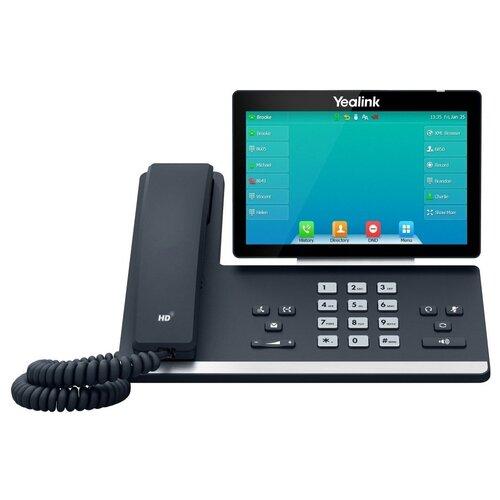VoIP-телефон Yealink SIP-T57W черный/серебристый voip телефон yealink sip t27g черный
