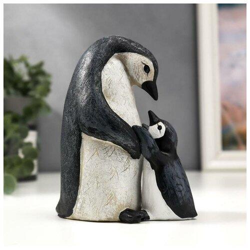 Фото - Сувенир полистоун Пингвин с пингвинёнком набор 2 шт 13х7х10,5 см 5185262 сувенир пингвин 9 5х9х17см star craft