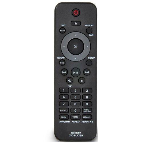 Фото - Пульт для Philips RM-D750 для DVD пульт для dom ru дом ru humax onlime rm e06 rm e12 rm e14