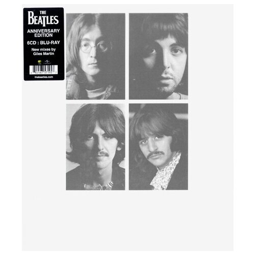 Universal The Beatles - White Album (6CD+Blu-ray Audio) (виниловая пластинка, Blu-ray)