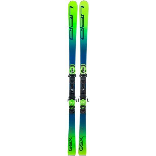 Горные лыжи детские без креплений Elan Gsx Team Plate (20-21), 158 см