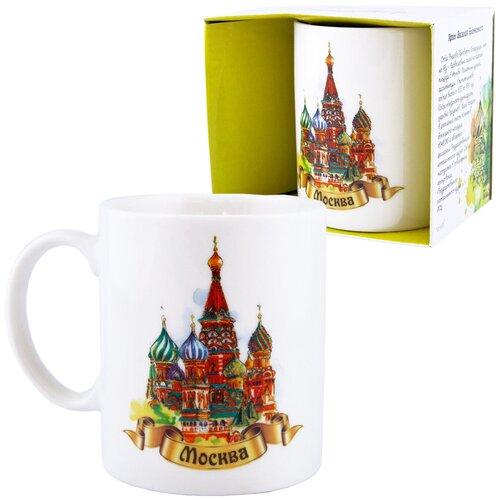 Кружка «Города России: Москва. Храм Василия Блаженного» (подарочная упаковка)