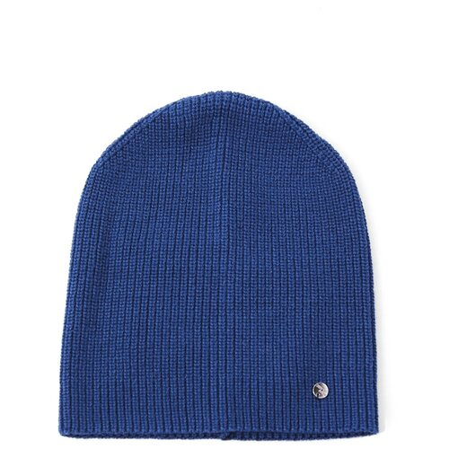 шапка женская finn flare цвет ярко синий a20 11148 111 размер 56 Шапка женская Finn Flare, цвет: ярко-синий A20-13113_111, размер: 56