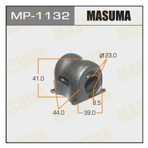 Втулка стабилизатора Masuma MP-1132 для Honda CR-V IV втулка стабилизатора 2 шт с кронштейнами перед cr v iii 07 12 honda 06510 sww 305