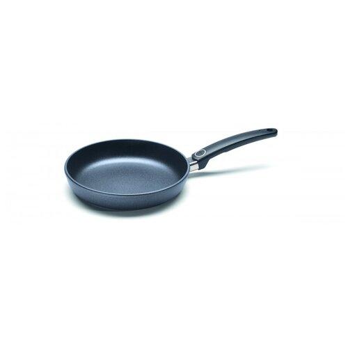 Сковорода литая WOLL серии Titanium Nowo, d-24, h-5 см (фиксированная ручка) сковорода skk сковорода d 24 h 6 5 см съем ручка о66244