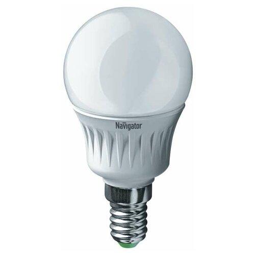 Лампа светодиодная 94 466 NLL-G45-7-230-2.7K-E14 7Вт шар 2700К тепл. бел. E14 500лм 176-264В Navigator 94466 (упаковка 10 шт)