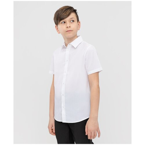Рубашка Button Blue размер 158, белый