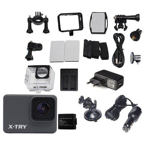 Фото - Экшн-камера X-TRY XTC264 Real 4K Wi-Fi Maximal экшн камера x try xtc262 real 4k wi fi power