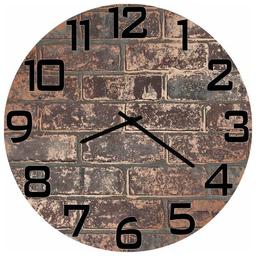 SvS Настенные часы SvS 4002798 Кирпичная стена