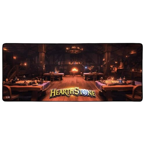 Коврик Blizzard Entertainment Hearthstone Tavern черный/коричневый
