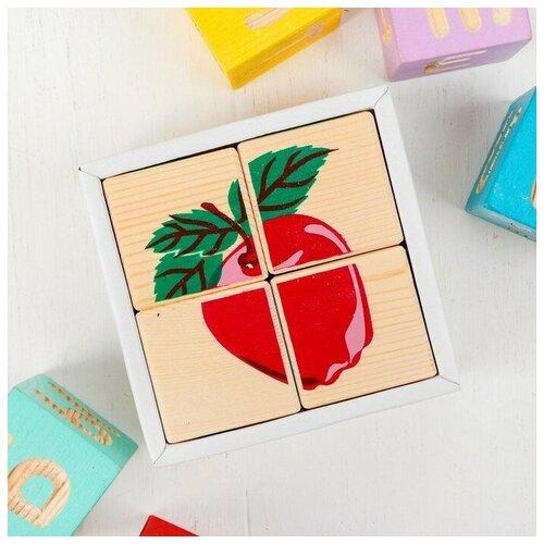 Томик Кубики Фрукты-ягоды 4 элемента