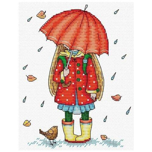 Набор Осенняя прогулка 18х14 МП-Студия М-142 18х14 МП-Студия М-142
