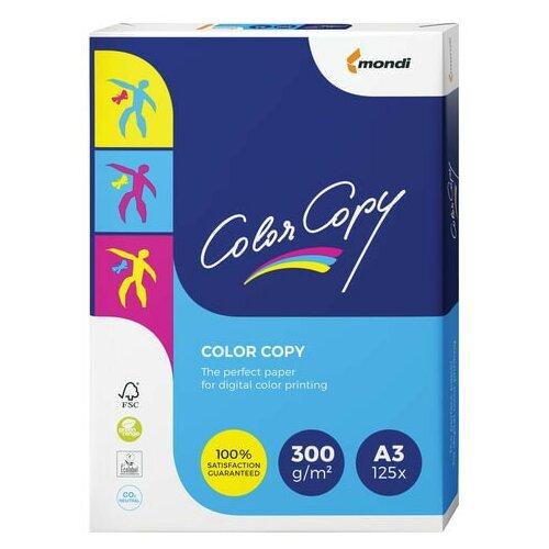 Бумага COLOR COPY, большой формат (297х420 мм), А3, 300 г/м2, 125 л., для полноцветной лазерной печати, А++, Австрия, 161% (CIE) бумага color copy большой формат 297х420 мм а3 200 г м2 250 л для полноцветной лазерной печати а австрия 161% cie a3 7158 1 шт