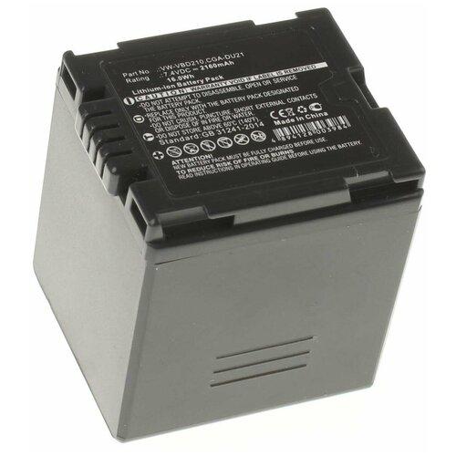 Аккумулятор iBatt iB-U1-F314 2160mAh для Hitachi DZ-MV350E, DZ-MV730E, DZ-BD70, DZ-GX3100E, DZ-MV380, DZ-BD7H, DZ-MV750E, DZ-BD10H, DZ-BD10HA, DZ-BD70A, DZ-BD70E, DZ-BD7HA, DZ-BD7HE, DZ-BD9H, DZ-BX35, DZ-BX35A,