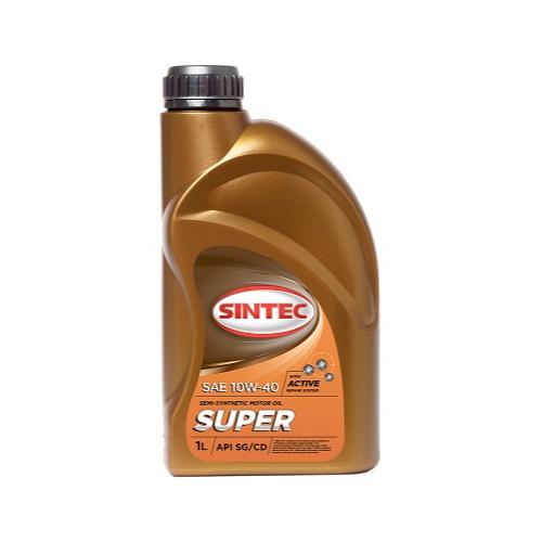 Моторное масло Sintec Супер SAE 10W40 1л (801893)