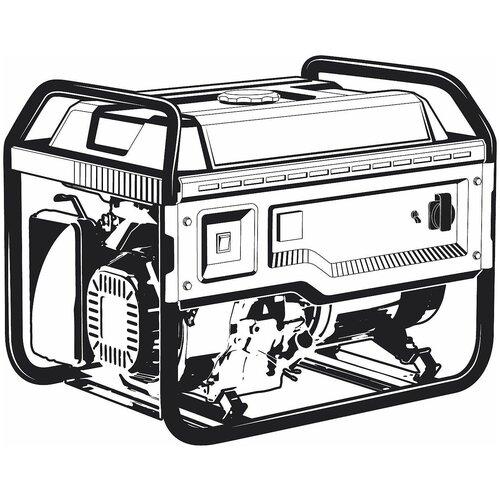 Бензиновый генератор ЗУБР 3300 Вт СБ-3300