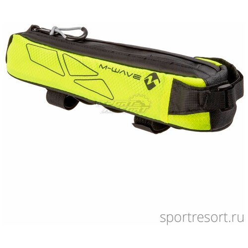 M-Wave Велосумка на раму M-Wave Rough Ride Top 0.7L Black/Yellow