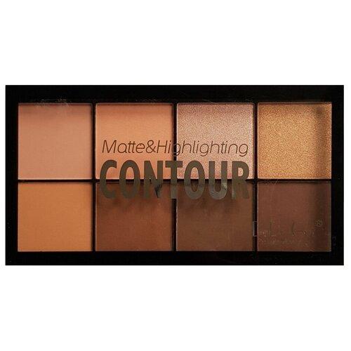 DoDo Girl Палетка для макияжа Matte and highlight contour 03