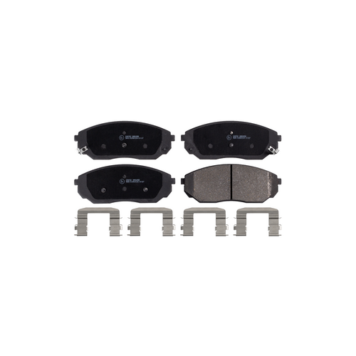 TRW GDB3343 (0252409217W / 05P1207 / 0986494143) комплект тормозных колодок, дисковый тормоз