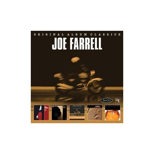 printio funk music Компакт-диски, Sony Music, FARELL, JOE - Original Album Classics (Joe Farrell Quartet / Outback / Penny Arcade / Upon This Rock / Canned Funk (5CD)