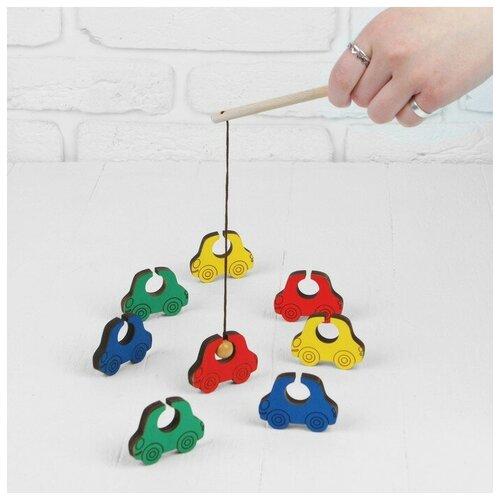Купить Деревянные Игрушки Игра «Поймай-ка. Машинки», Деревянные игрушки, Развитие мелкой моторики