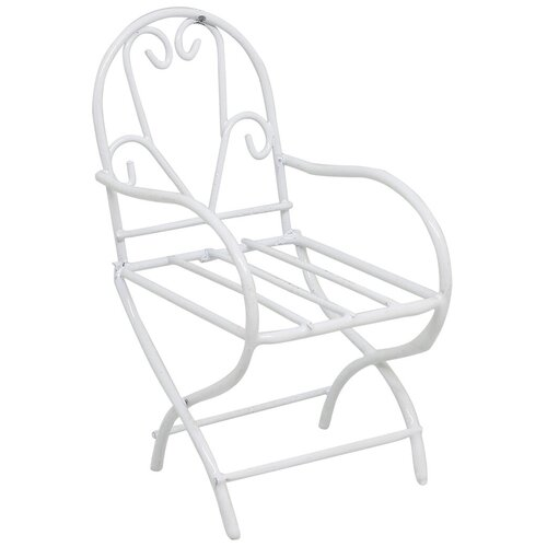 Металлическое мини-кресло 4, 5,5*9*4,5 см