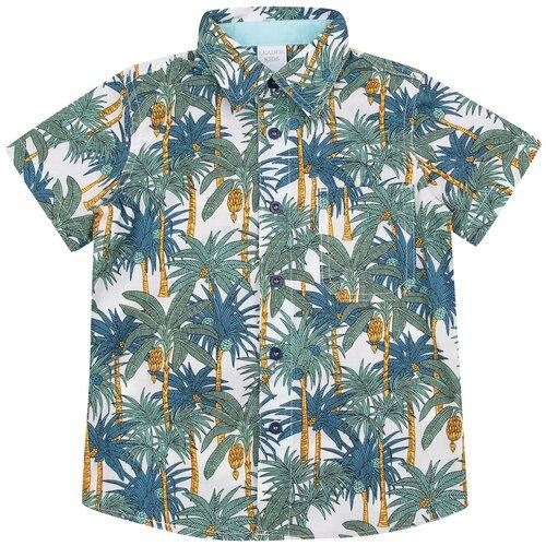 Рубашка Leader Kids размер 104, белый