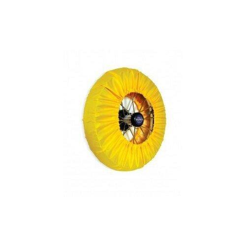 чудо чадо чехлы на колеса для коляски диаметр 18 28 см цвет васильковый 2 шт Чехлы на колеса для детской коляски Patrino/МамаШила, 4 шт