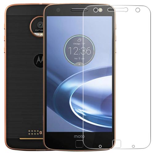 Защитная пленка MyPads (только на плоскую поверхность экрана НЕ закругленная) для телефона Motorola Moto E5 / Moto G6 Play глянцевая