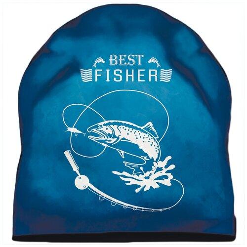 Шапка мужская рыбаку Best Fisher