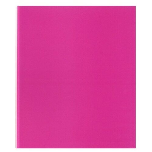 Фото - ErichKrause Папка на 2-х кольцах Neon A4, картон, 35 мм розовый erichkrause папка–регистратор на 2 кольцах neon а4 35 мм розовый